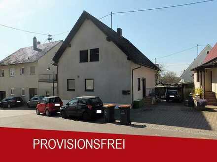 Jetzt mit 360°Rundgang! Schönes Einfamilienhaus mit Einliegerwohnung in Rutesheim-Perouse