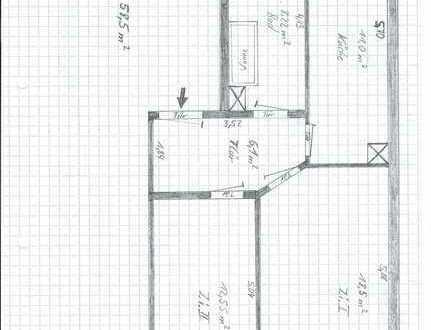 Sanierte 2-Zimmer-Wohnung mit Balkon in Böhlitz-Ehrenberg