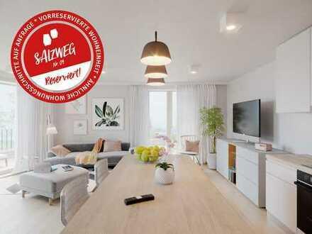 Wohnen am Salzweg: 2-Zimmer-Wohnung, EG, 70qm (Reserviert)