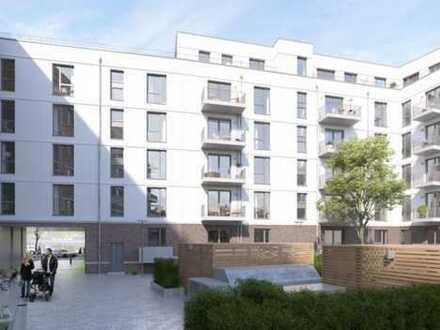 Erstbezug Neubau, top moderne 3 Zimmer-Wohnung im Herzen von Barmbek