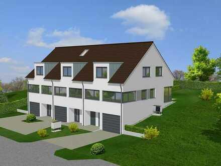 Neubau von 3 Reihenhäusern in Bad Bellingen-Rheinweiler