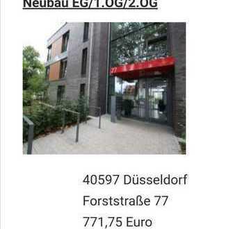 Schöne, geräumige zwei Zimmer Wohnung in Düsseldorf, Hassels