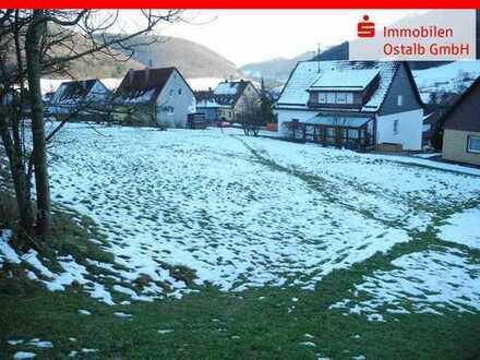 Inmitten malerischer Landschaft - Bauplatz in Degenfeld