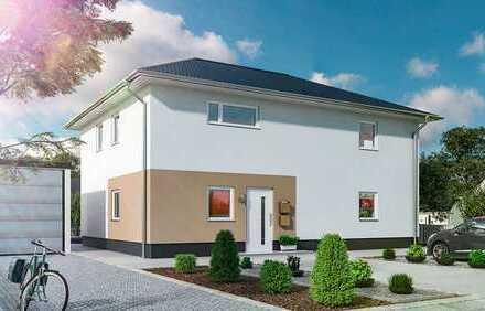 Neubau 2 Fam.haus in Dahlewitz - Ihre 4 Zimmer Wohnung mit Garten ab Juni`20