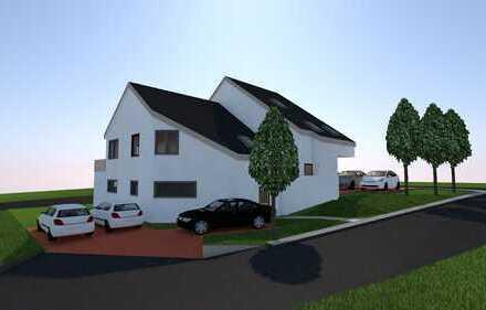 Maisonettewohnung in Neubaudoppelhaushälfte