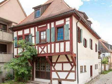 Atelier plus 4 Wohnungen im Kontorhaus des Finanzministers des Grafen von Brandenburg-Bayreuth