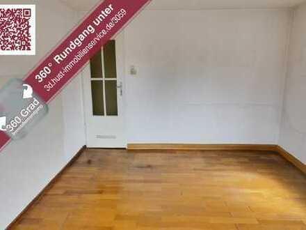 Mit 360°-Tour! Provisionsfrei - Sanierungsbedürftige 3-Zimmer-Wohnung mit Balkon in Bad Schönborn