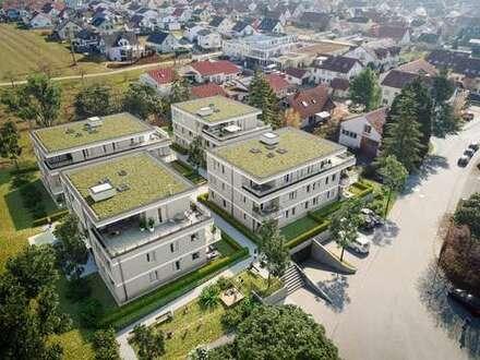 Großzügige 3-Zimmer-Wohnung mit 66 m² Garten!