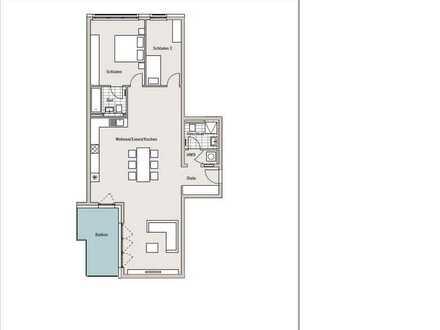 Schöne und geräumige 3-Zimmer-Wohnung mit großem Balkon in Obersendling