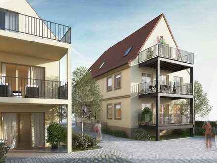 Erstbezug mit Terrasse: schöne 2-Zimmer-EG-Wohnung in Landau in der Pfalz