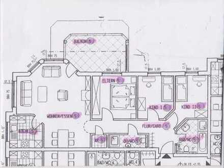 Gepflegte 4,5-Zimmer-Wohnung mit Balkon und EBK in Wörth am Rhein, Maximiliansau