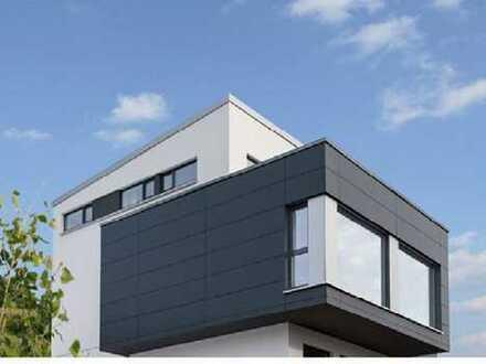 Projektierte Bauhausvilla in Dreieichenhain