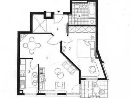 schicke Wohnung, sofort beziehbar, sehr gute Wohnlage