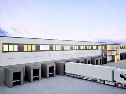 Lager- und Logistikhalle Neubauprojekt