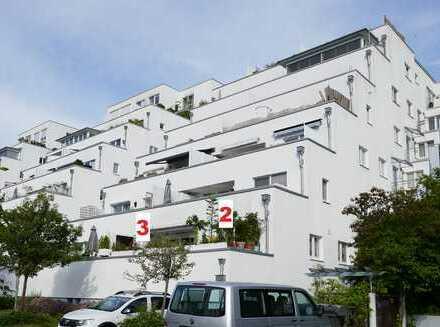 Modernisierte Terrassenwohnung mit drei Zimmern und großer Terrasse in Bremthal