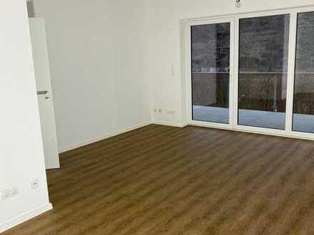 Erstbezug: barrierefreie 3-Zimmer-UG-Wohnung mit großem Balkon und wunderschönem Moselblick