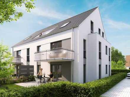 Luxus-3-Zi-Gartenwohnung mit 82m² plus 29m² Hobbykeller - zeitnah bezugsreif