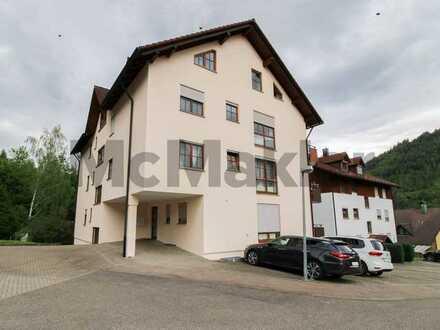 Grundbuch statt Sparbuch - Investitionsglück! Single-Apartment mit Balkon in ruhiger Waldrandlage