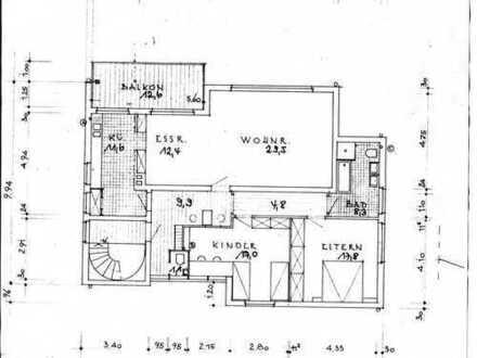 +++Wellinghofen: frisch renovierte großz. 3,5-Zi.-Wohnung mit Südbalkon+++