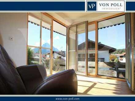 Großzügige 2-Zimmer Ferienwohnung zwischen Garmisch-Partenkirchen und Seefeld