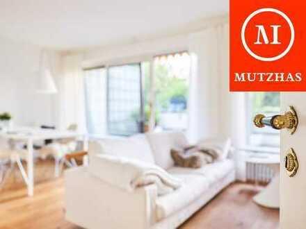 MUTZHAS - Bestlage Alt-Solln - Top geschnittene 2,5-Zi-Whg mit sensationeller Dachterrasse