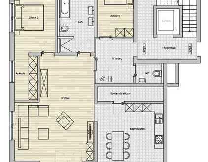 Erstbezug mit EBK und Balkon: freundliche 4-Zimmer-2.OG in Aulendorf