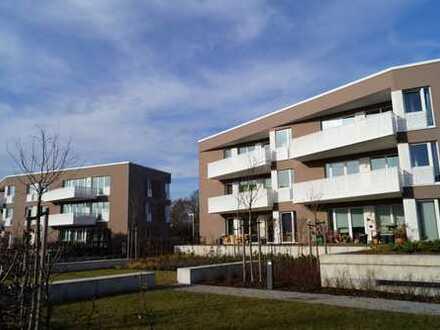 Familienwohnung: mit Gäste-WC, EBK, modernem Bad. Auch WG-geeignet.