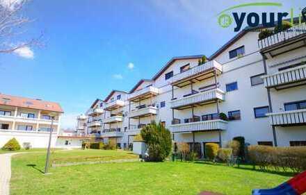 Schön geschnittene 3 Zimmer Wohnung in 87471 Durach/Weidach