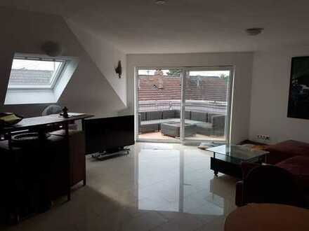 Wunderschöne 3-Zimmer-Dachgeschosswohnung mit Balkon in Birkenheide