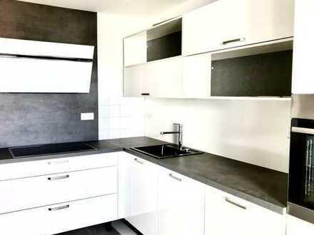 Zwischen Freiburg und Basel. Großzügige 4-Zimmer-Neubauwohnung mit hochwertiger Einbauküche.