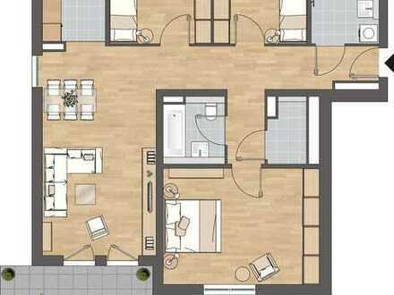 ERSTBEZUG, NEUBAU - 4-Zimmer-Wohnung in Frankfurt am Main, Griesheim