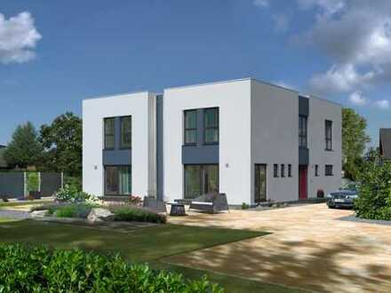 Doppelhaushälfte im Bauhausstil