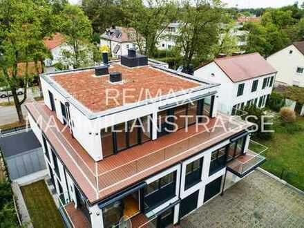 Fantastische Penthauswohnung in Villenlage von Obermenzing rollstuhlgeeignet