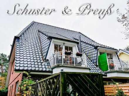 Schuster & Preuß - Wandlitz am Naturschutzgebiet - 3 Zimmer-Maisonette mit Balkon, neuer Einbaukü...