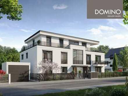DOMINO Bau: Stilvolle Gartenwohnung mit 3 Zimmern