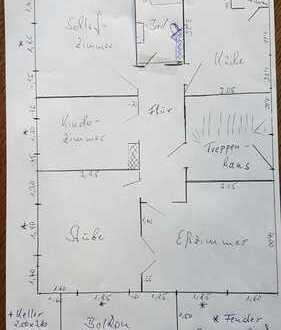 Gepflegte 4-Zimmer K/B -EG-Wohnung mit Balkon in Diepholz