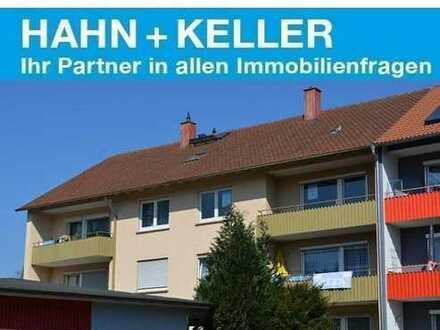 Zentrumsnahe 3 Zimmer-Wohnung mit 2 Balkonen und Einzelgarage!  -Bezugsfrei-