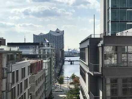 Exklusive 3 Zimmer Wohnung im Neubauprojekt KPTN mit atemberaubenden Weitblicken zur Elbphilharmonie