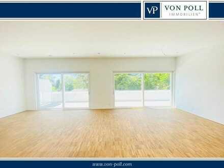 Von Poll Immobilien Helle Penthousewohnung in Bestlage Sinsheim