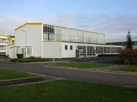 1.267 m2 Präsentations- oder Lagerhalle mit kleinem Büro und Podestfläche