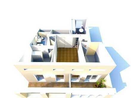 3,5 Zimmer Dachgeschosswohnung mit Wintergarten und Dachterrasse + Tiefgarage