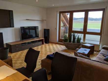 Exklusive, sanierte 3-Zimmer-Wohnung mit Balkon und EBK in Erligheim