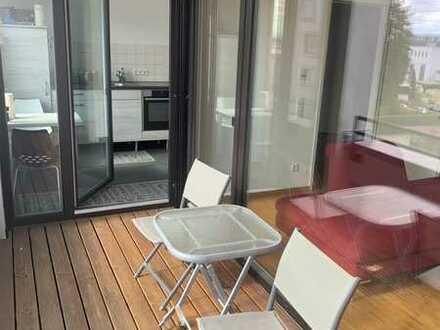[RESERVIERT] Exklusive, neuwertige 2-Zimmer-Wohnung mit Loggia, EBK und TG-Stellplatz in Freiburg