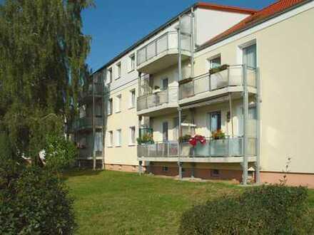 sonnige 3-Zimmer-Wohnung mit Balkon in Güsen