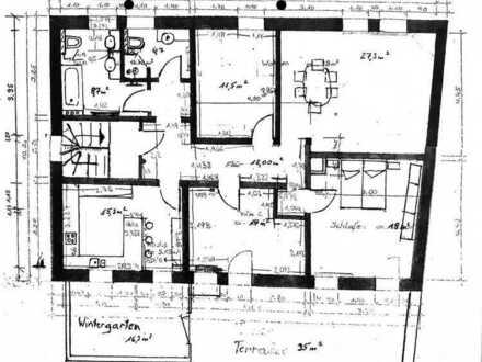 Schöne 4-Zimmer-Wohnung mit Dachterasse und Einbauküche in Braunschweig