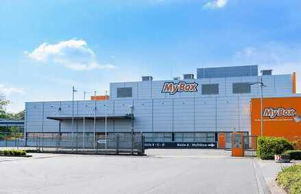 Digitale Lagerflächen von 100qm bis 2500qm ab 4,00€ direkt an der A43 / A1