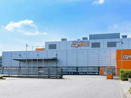 Moderne Lagerflächen von 100m2 bis 1500m2 ab 5,00€ direkt an der A43 / A1 Weselerstr.