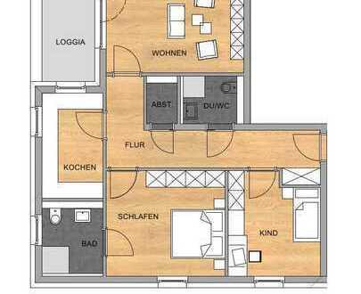 3-Zimmer-Eigentumswohnung in Bestlage - Buschhoven Ortsrand