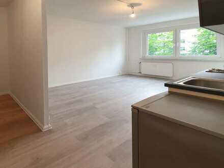 Kleine 2-Zimmer-Wohnung mit Einbauküche