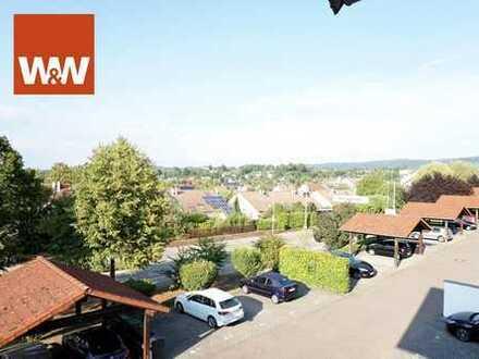 ***Kaufzusage***Herrliche 2,5 Zimmer - Dachgeschosswohnung mit Balkon, zentrumsnah!